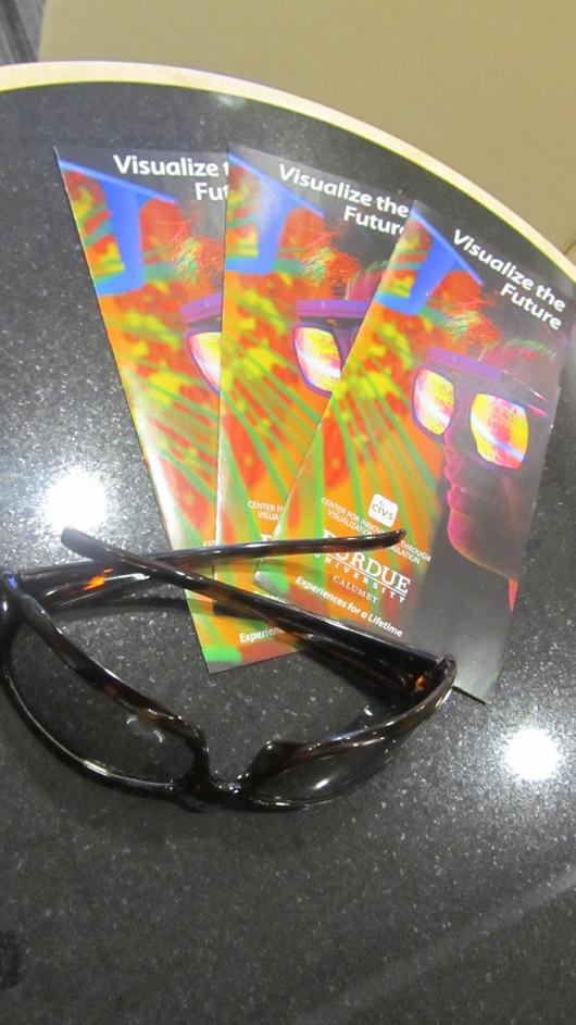 """CIVS brochure """"Visualize the future"""""""
