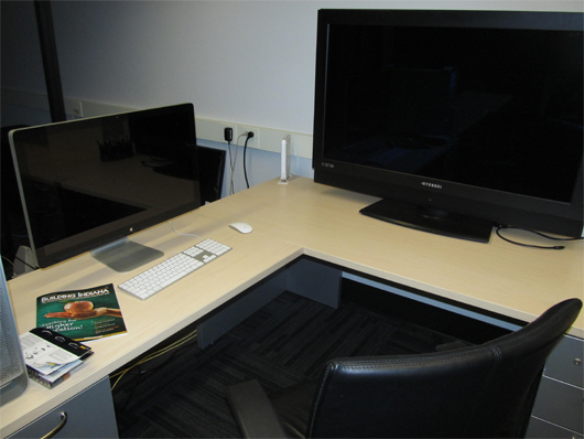 My work station