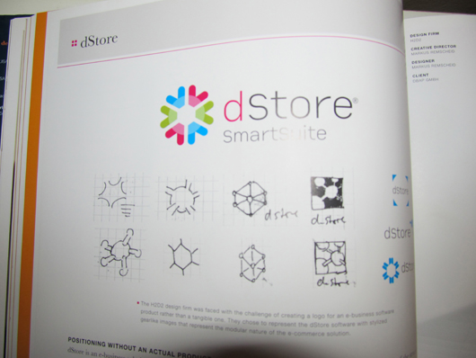 brand identity case study for dStore