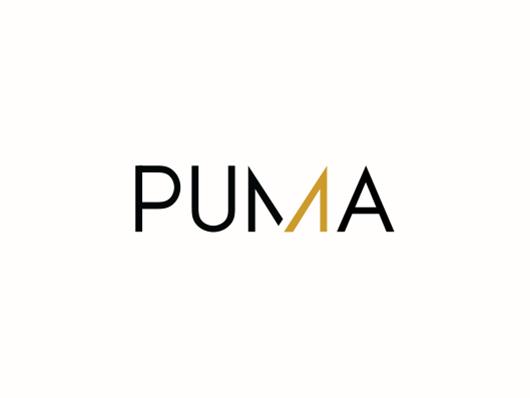 PUMA profit logo concept