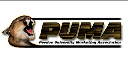 Purdue University Marketing Association old logo