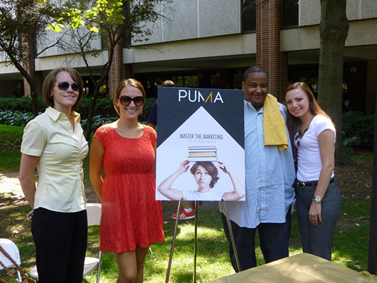 PUMA sign student convocation