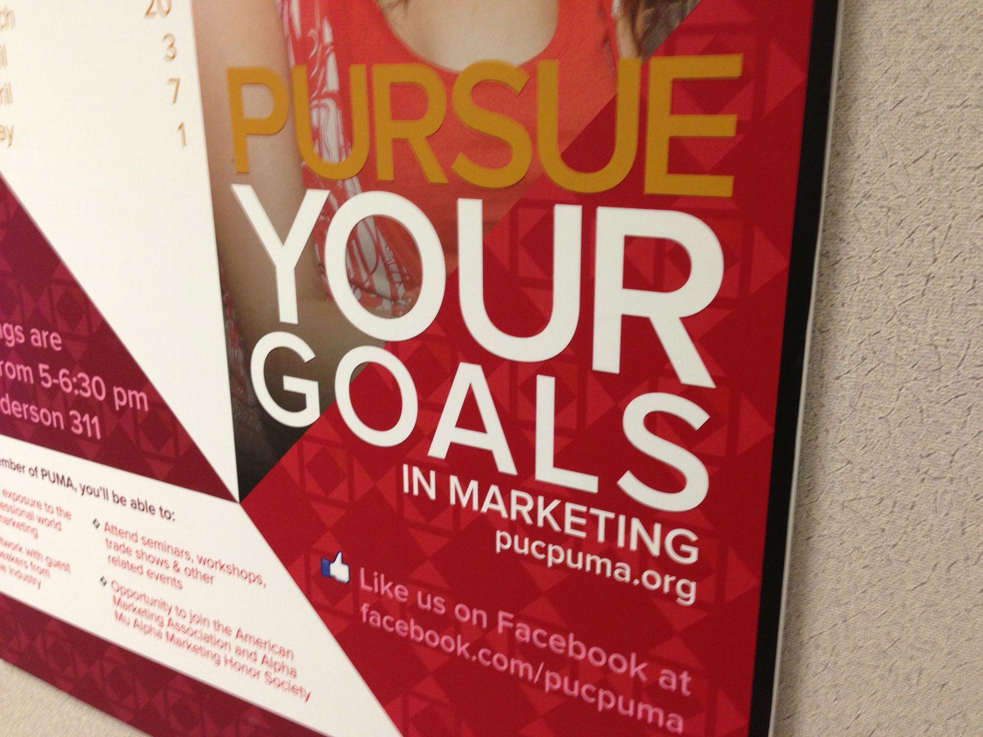 Purdue University Marketing Association - Pursue Your Goals in Marketing
