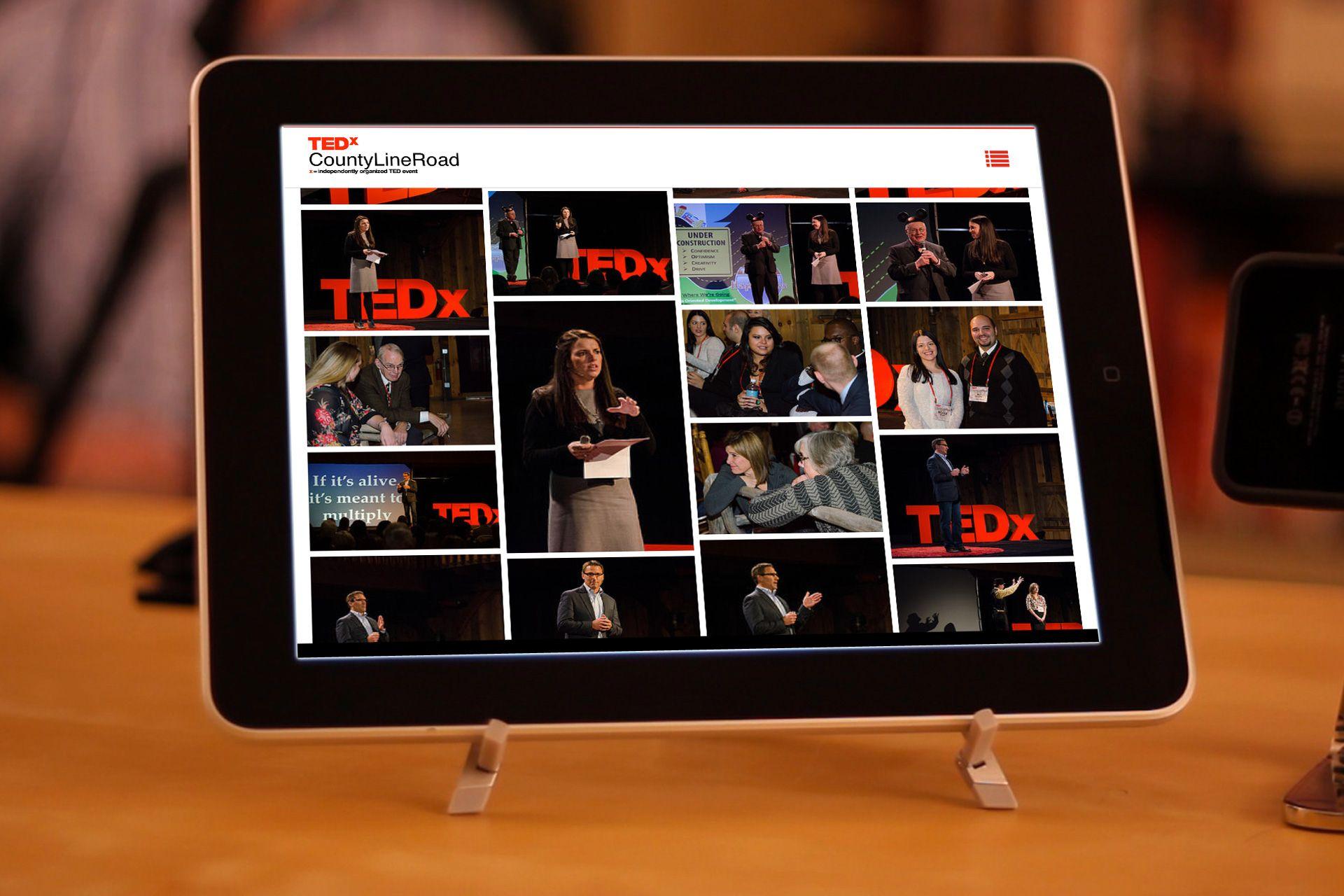 TEDxCountyLineRoad website